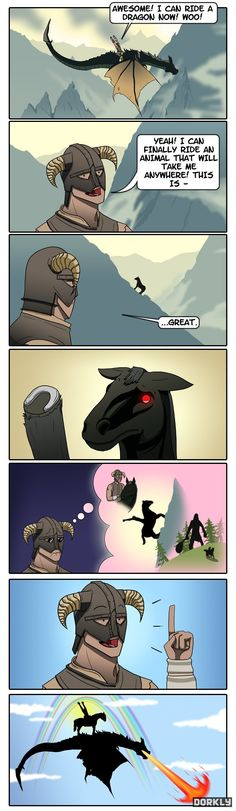 The Dragonborn Rides Again [Comic] | Geeks are Sexy Technology News