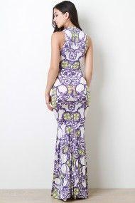 Print Maxi Dress #urbanog