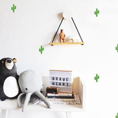 Looking for a little pop of Southwest?These tiny cactus decals are the perfect addition!
