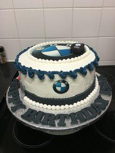 BMW cake Bmw Cake, Biker, Sweet Treats, Pastel, Husband, Homemade, Desserts, Diy, Food