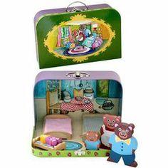 Goldilocks And The Three Bears, Suitcases, Speech Therapy, Life Skills, Fairytale, Kindergarten, Lunch Box, Drama, Activities