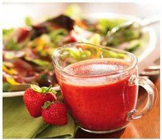 hCG Diet Recipes - Strawberry Vinaigrette Recipe