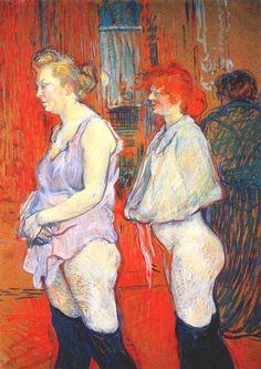 La inspección médica (1894)Toulouse-Lautrec