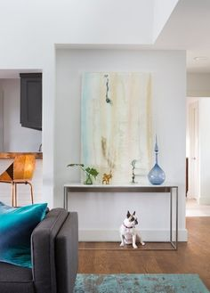 A Split-Level Gets a Sleek Modern Makeover — Professional Project | Apartment Therapy