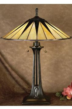 Art Deco table lamp  http://myhometrend.com