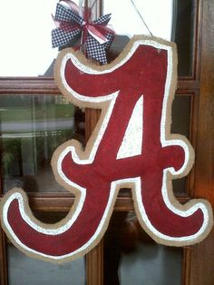 """""""Bama"""" A. I will paint this for my Alabama friend fans..."""