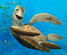 Finding Nemo Turtle, Finding Dory, Disney Movie Rewards, Disney Movies, Pixar Movies, Cartoon Movies, Cute Wallpapers, Wallpaper Backgrounds, Caricatures