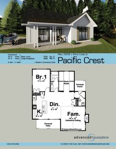 how to design a family room Pool House Plans, Barn House Plans, Cabin Plans, Small House Plans, Prefab Tiny House Kit, Small Cottages, Large Family Rooms, Cottage Plan, Cabin Homes