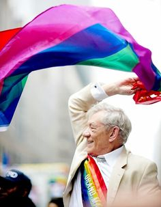 Ian McKellen, Pride at any Age!