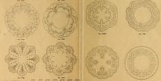 Embroidery patterns from Embroidery hints: Fall and Winter 1910. This magazine is in the public domain. Download this ebook as pdf, epub or kindle. https://archive.org/stream/embroideryhintsf00newy