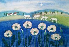 Blue+grass+aneb+totálně+modrá+tráva+Akvarelová+malba+na+ručním+papíře+z+Losin.+Originál.+Velikost+obrázku:+40,5x+28+cm.+Posílám+zabaleno+v+kartonu+nebo+tubusu,+doporučeně.+Bez+rámu.+(Obrázek+mohu+poskytnout+zarámovaný+s+příplatkem+130+Kč,+ovšem+museli+bychom+se+domluvit+na+osobním+předání.+Jemný+rámeček+z+přírodního+dřeva+by+byl+o+velikosti+A3).