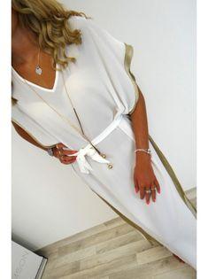 5ec84af16e44c1 Kiki Cover Up Dress - White - Damson Boutique