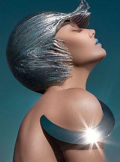 Avant-Garde Hair: Photographer Vijat Mohindrafor Dark Beauty Magazine
