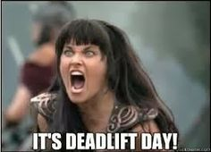 It's Deadlift Day!