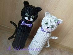 Плетение из газет Weaving, Crochet Hats, Cat, Knitting Hats, Cat Breeds, Loom Weaving, Crocheting, Knitting, Hand Spinning
