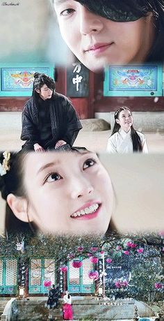 These cutie pies! Their love is slowly blooming. I just love how she shocks his sad little heart and warms it and I just love how he looks at her when she does! I shipped it in China and I still ship it in Korea!!! Moon Lovers: Scarlet Heart Ryeo HWAITING!!!