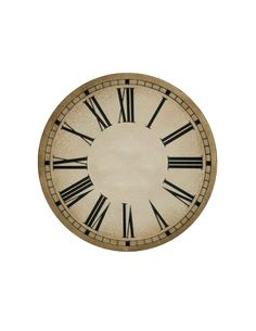 New Years printables cara de reloj libre (tamaño CD y placa)
