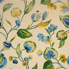 Swan by Greenhouse Floral Upholstery Fabric, Greenhouse Fabrics, Swan, Pattern Design, Inspiration, Things To Sell, Wallpapers, Interiors, Patterns