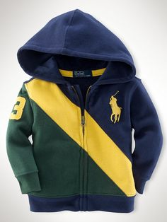 Novelty Banner Fleece - Tops   Infant Boy (9M-24M) - RalphLauren.com Boys Hoodies, Boys Shirts, Mens Sweatshirts, Baby Outfits, Kids Outfits, Young Boys Fashion, Kids Fashion, Under Armour Baby Boy, Luxury Baby Clothes