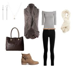 """""""autumn fashion"""" by annie-zz on Polyvore featuring H&M, J Brand, Charlotte Russe, LC Lauren Conrad, Cole Haan and Max Studio"""