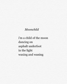 Moonchild   #writingsfromawouldbebeatnik - http://ift.tt/1NTRLxU