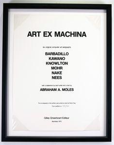 Art Ex Machina (Portfolio) Computer Art, Ex Machina, Theory, Digital Art, Artwork, Inspiration, Collection, Biblical Inspiration, Work Of Art