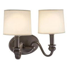 Transitional 2-light Old Bronze Wall Sconce | Overstock.com Shopping - Top Rated Sconces & Vanities 58.99
