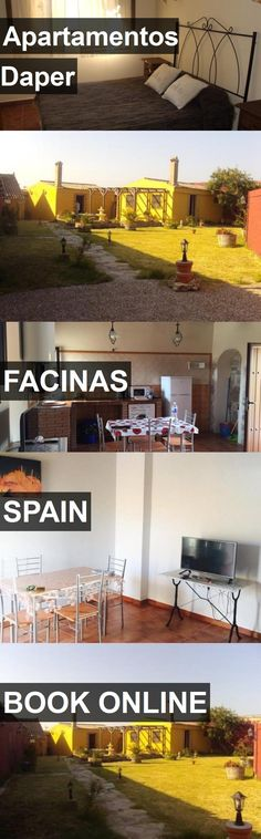 Hotel Apartamentos Daper in Facinas, Spain. For more information, photos, reviews and best prices please follow the link. #Spain #Facinas #ApartamentosDaper #hotel #travel #vacation