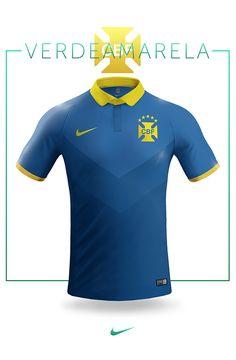 National football teams concept jersey design, Nike.