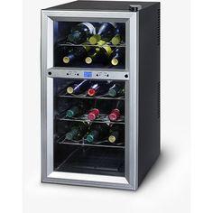 Kalorik 18-bottle Wine Cooler (Kalorik 18 Bottles Wine Cooler), Silver