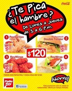 Authentic menus for teaching comidas en español.
