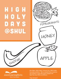 High Holy Days @Shul Activities for Kids from Jewish LearningWorks: http://www.jewishlearningworks.org/rosh-hashana-yom-kippur/