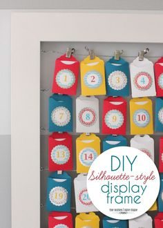 Read along to learn how to make your own DIY Silhouette-Style Display Frame!