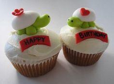 turtle birthday cuppy's