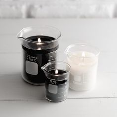 DIY: Chemistry Beaker Candles