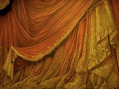Backdrop Vintage Theater Stage Curtain - Sunset by EveyD on deviantART