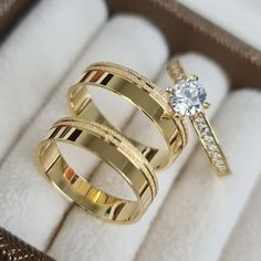Engagement Rings Couple, Couple Rings, Diamond Wedding Rings, Diamond Rings, Couple Ring Design, Gold Ring Designs, Stylish Jewelry, Marie, Black Friday
