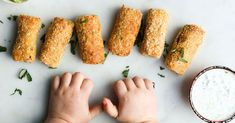 Crispy on the outside and soft in the inside, these kid-friendly Salmon Croquettes are great as part of a main meal or lunch. Salmon Croquettes, Toddler Food, Toddler Meals, Baby Led Weaning, Main Meals, Tray Bakes, Entrees, Sauces, Finger Food