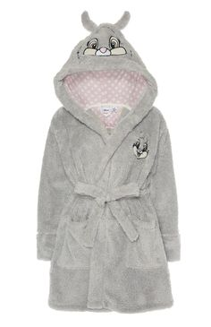 Primark - Grey Disney Thumper Hooded Robe