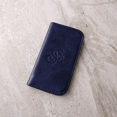 The Original LD West® Wallet - Navy Blue