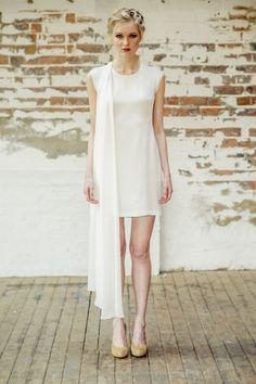 Thierry Joubert - Atelier Anonyme - Robes de mariee - Collection 2015 - Robe Georgia - La mariee aux pieds nus