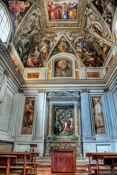The Basilica of Saint Praxedes commonly known in Italian as Santa Prassede, is an ancient titular church and minor basilica in Rome, Italy,