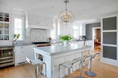 Kitchen Island with Seating for Small Kitchen