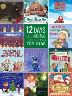One of our favorite traditions is unwrapping a book and reading it together each night in the weeks leading up to Christmas. Here are 12 of the best Christmas books in our collection. we know your family. Christmas Drama, Christmas Books For Kids, Peanuts Christmas, 12 Days Of Christmas, Christmas Activities, A Christmas Story, Christmas Traditions, Christmas Holidays, Christmas Ideas
