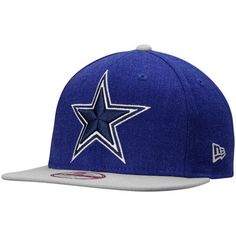 Men s Dallas Cowboys New Era Royal Logo Grand Original Fit 9FIFTY  Adjustable Hat fa049cbd6