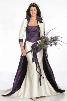 Tartan Wedding Dress Tartan Wedding ideas, Scottish Wedding, Tartan ...