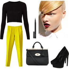 """""""Life is pretty boring without yellow"""" by byobjection on Polyvore"""