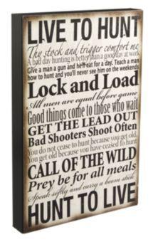"""Live to Hunt"" Box Art | Bass Pro Shops"