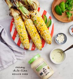 Chile Lime Grilled Corn on the Cob - The perfect summer vegetable recipe for 4th of July weekend!