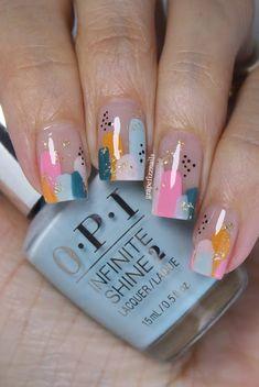 Grape Fizz Nails Opi Colors, Abstract Nail Art, Nail Art Blog, Tan Lines, Summer Nails, Hair And Nails, Nail Polish, Dots, Inspirational